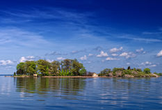 1000 островов Стоковые Изображения