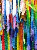 1000 птиц Origami Стоковое фото RF