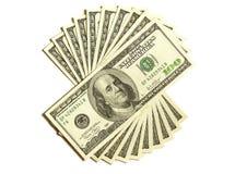 1000 долларов Стоковое фото RF