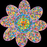 1000 Blumen Stockfoto