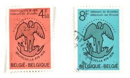 1000 jaar van Brussel Stock Foto's