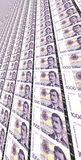 1000 kroner счетов норвежских Стоковое фото RF
