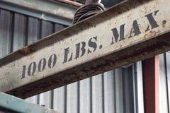 1000 lbs最大 免版税库存照片