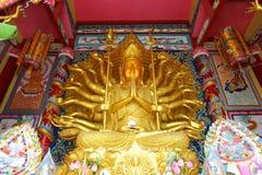 1000 mãos de Guan im Buddha Fotos de Stock Royalty Free
