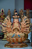 1000 mani Guan Yin Fotografie Stock Libere da Diritti
