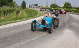1000 miglia 2011 Royalty Free Stock Photo