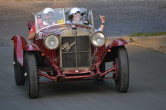 1000 miglia race 2011 - good bye Stock Photography