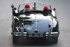1000 miglia race 2011 - good bye Stock Photo