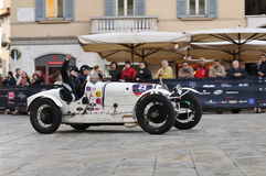 1000 Miglia vintage car race Royalty Free Stock Image