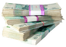 1000 russian roubles royalty free stock photography