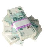 1000 russian roubles royalty free stock photo