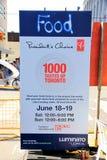 1000 smaków Toronto Obrazy Stock
