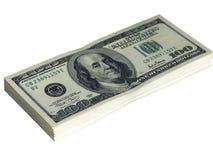 10000 долларов Стоковое Изображение RF