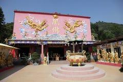 10000 buddhas寺庙 库存照片