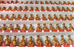 10000 buddhas Photos stock