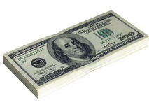 10000 dolarów Obraz Royalty Free