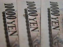 10000 fatture di Yen Immagini Stock Libere da Diritti
