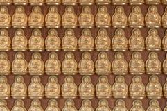 10000 gouden Boedha Royalty-vrije Stock Foto's