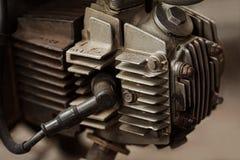 100cc摩托车引擎 库存照片
