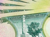 100K Dinars1 iraquí Fotografía de archivo
