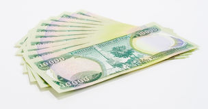 100k dinars3 Ιρακινός Στοκ Εικόνα