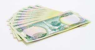 100K Dinars3 iraquí Imagen de archivo