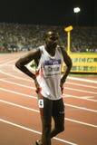 100m 2009年竞技基督徒最终精神世界 库存图片