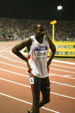 100m värld för 2009 mens för friidrott kristen sista Arkivbilder