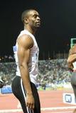 100m värld för tyson för 2009 mens för friidrott sista glad Royaltyfri Fotografi