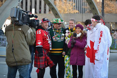 The 100th Grey Cup festival Stock Images