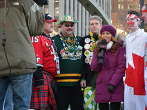 The 100th Grey Cup festival Royalty Free Stock Photos