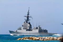 101 alvaro bazan de f大型驱逐舰 免版税图库摄影