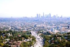 101 autopista sin peaje, Hollywood Foto de archivo