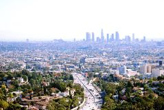 101 Freeway, Hollywood Stock Photo