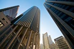 101 Kalifornien Straßen-Gebäude Stockfotos