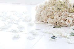 101 rozen Royalty-vrije Stock Foto's