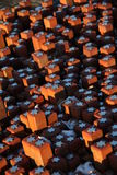 102,000 Steine Lizenzfreie Stockfotografie
