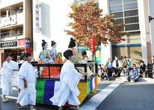 京都- 10月22 : Jidai Matsuri 免版税图库摄影