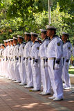 102nd anniversary of Bulgaria's independence. VARNA, BULGARIA - SEPTEMBER 22: Officials, NAVY personal and citizens are celebrating the 102nd anniversary of Stock Photography