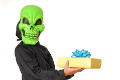 103 ghoul halloween Arkivfoto