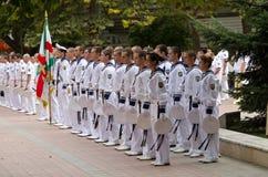 103th anniversaire de l'indépendance de la Bulgarie Images libres de droits