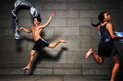 104地下舞蹈 图库摄影