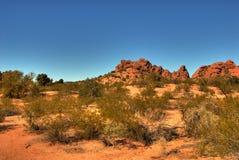104片沙漠山 库存图片