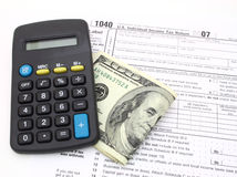1040 tax form Stock Image