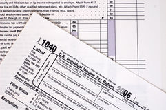 1040 Tax Form (USA) Stock Images