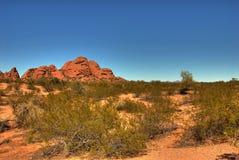 105片沙漠山 图库摄影