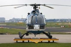 105 bo直升机警察 免版税库存照片