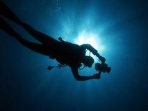 106潜水员 图库摄影