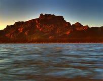 106片沙漠山 库存照片