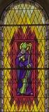 106 окно запятнанное стеклами Стоковое фото RF
